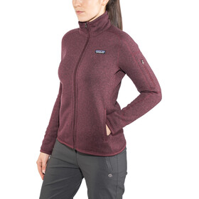 Patagonia Better Sweater Jacket Damen dark currant